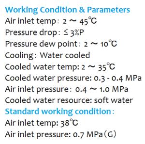 Máy sấy khí giải nhiệt bằng nước